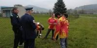 Detská hasičská súťaž