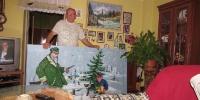 p. Martin Roman a jeho výstava kroník,..