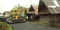 Výstavba hlavnej cesty